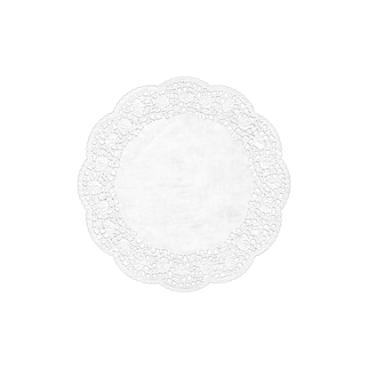 Picture of Swantex RD-125 White Round Doyley 12.5""